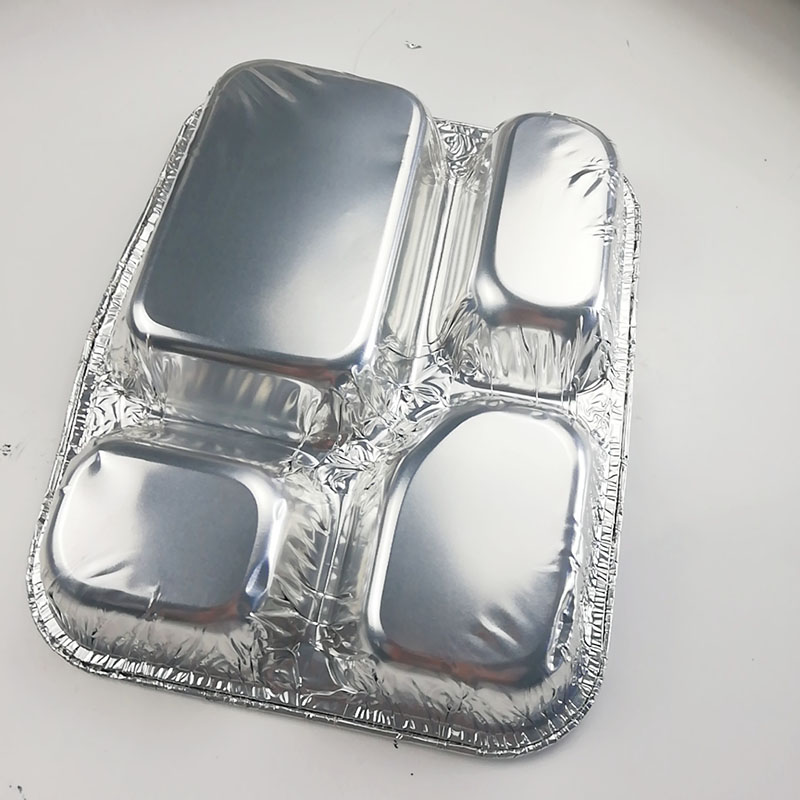 aluminum foil take-out food box