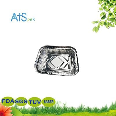 disposable silver cake box