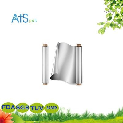disoposable roll of aluminum